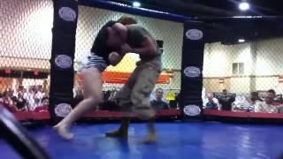 US Marine Taps Out To Jiu Jitsu Girl
