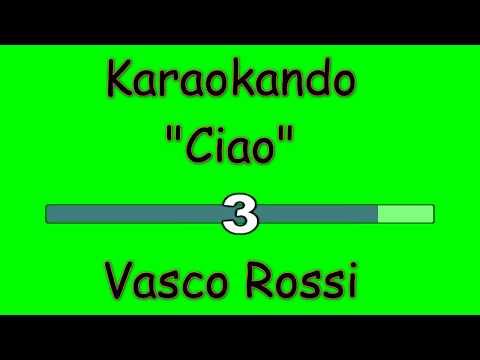 Karaoke Italiano - Ciao - Vasco Rossi ( Testo )
