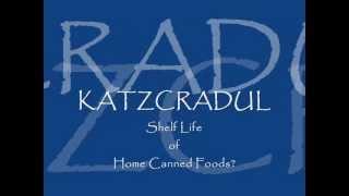Shelf Life of Home Canned Foods?