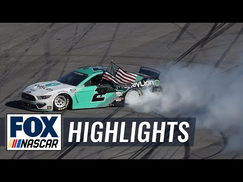 FINAL LAPS: Brad Keselowski gets it done in overtime at Talladega | NASCAR ON FOX HIGHLIGHTS