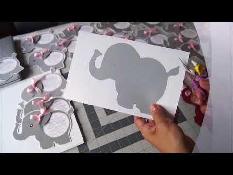 Invitacion Baby Shower Elefante Youtube