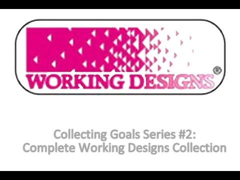 Collecting Goals Series #2: Complete Working Designs Published Game Collection