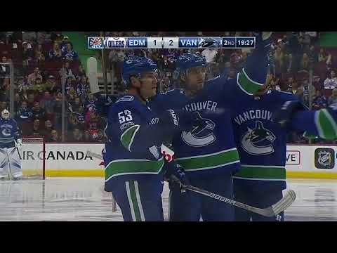Edmonton Oilers vs Vancouver Canucks - October 7, 2017 | Game Highlights | NHL 2017/18