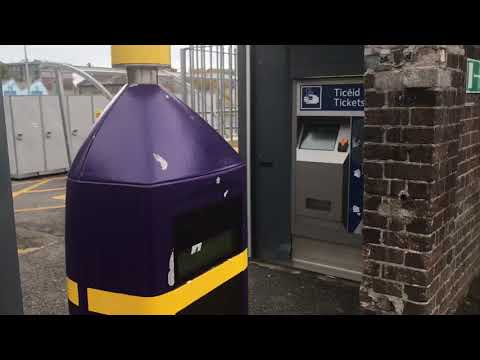 Balbriggan Station Ticket Machine and Leap Card Scanners (14/10/17)