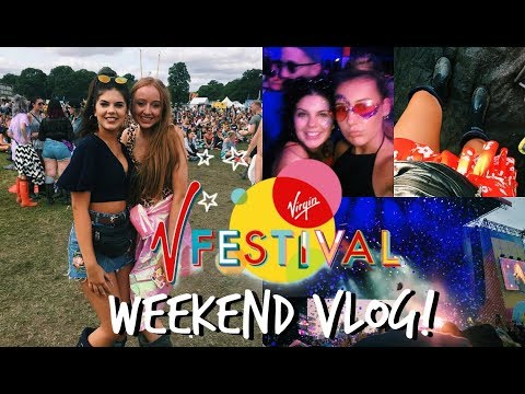 VFestival WEEKEND VLOG! 2017 | Sophie Clough
