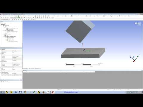 WEBINAR 5: ANSYS Workbench Explicit Dynamics FEA of soft rubbers/ jelly drop tests
