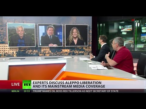 'No 2nd opinion, no alternative': Experts discuss Aleppo liberation and its media coverage