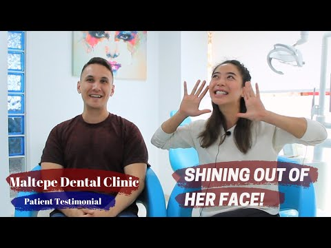 Smile Makeover in Five Days, Patient Review | Maltepe Dental Clinic, Istanbul/Turkey