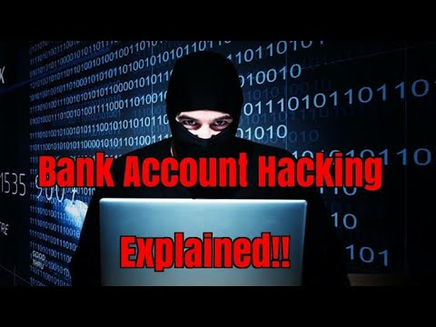 Janiye kaise hack karte hai bank account