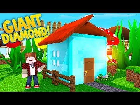 LIFE INSIDE A GIANT DIAMOND HOUSE!
