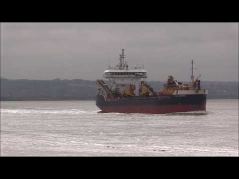Dredgers Hoppers  Thames Shipping by R.A.S. 2017.
