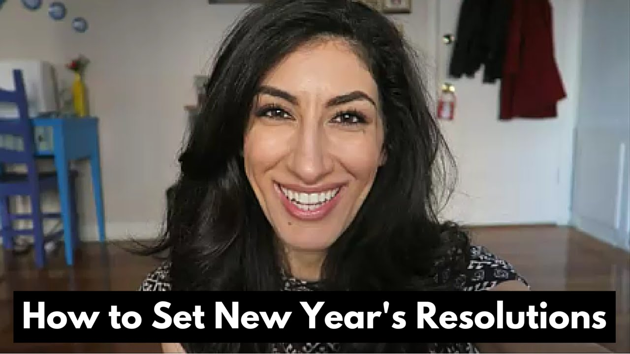 How To Set New Year's Resolutions