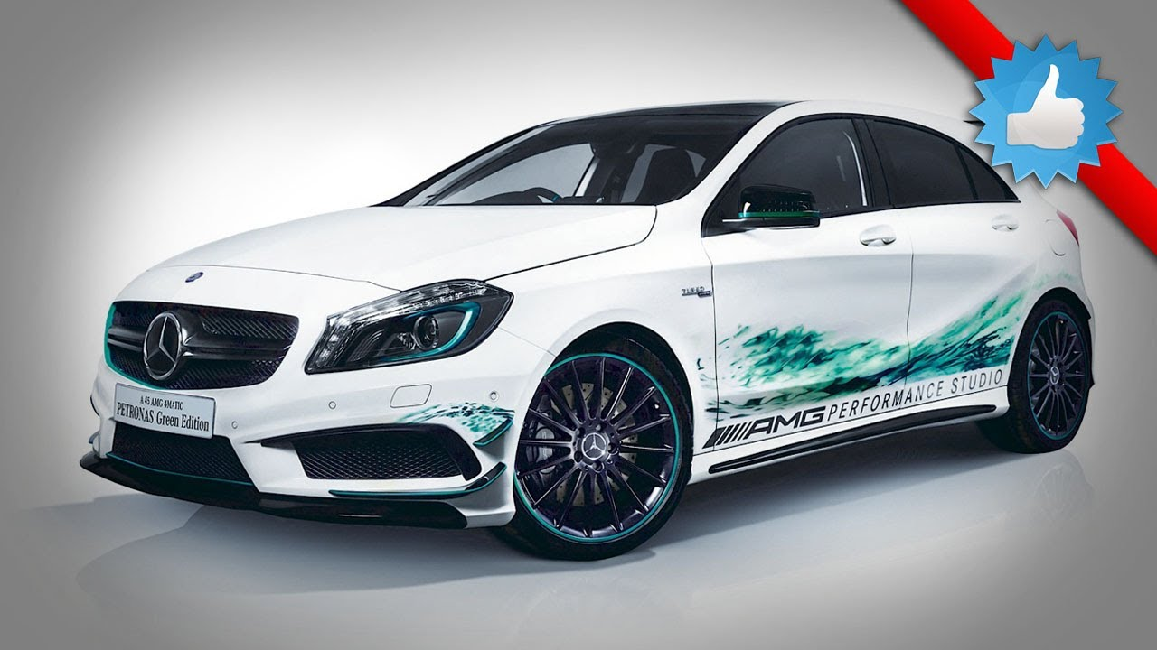Green A45 Amg >> 2014 Mercedes-Benz A45 AMG Petronas Green Edition in Japan - YouTube