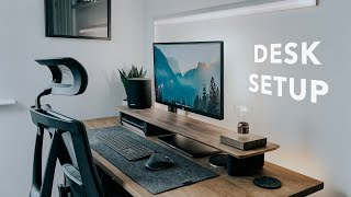 2021 Desk Setup Tour | Working From Home Setup