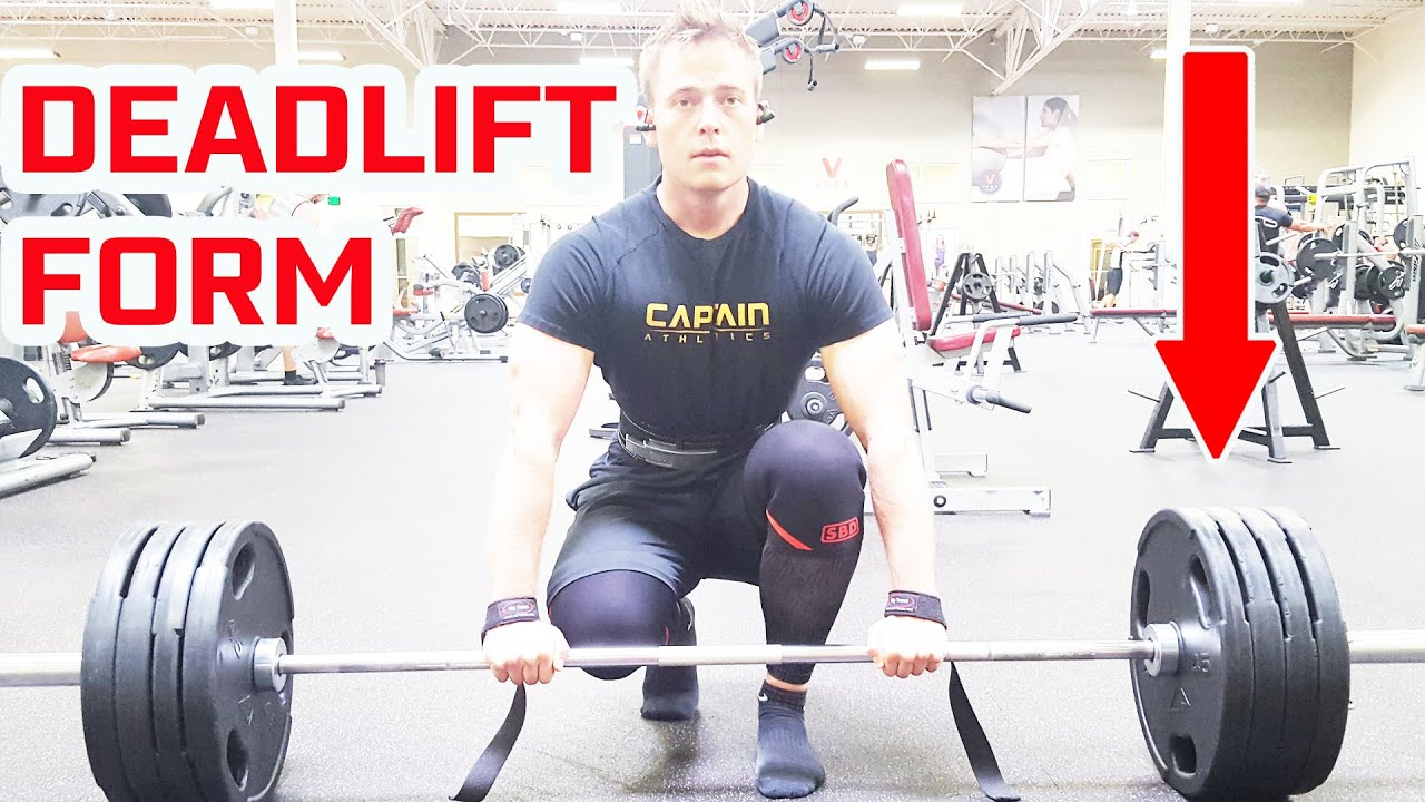 Proper Deadlifts Form Deadlifts Benefits Youtube
