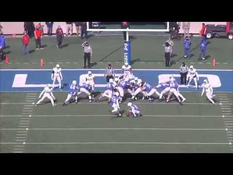 Harrison Elliott 2015 NFL Draft Eligible Long Snapper Senior Highlights