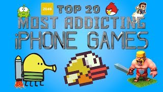 Top 20 Most Addicting Iphone Games Ever!!!