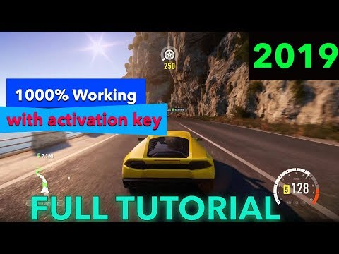 Download And Install Forza Horizon 2 Game For PC 100% Working Activation Key 2019