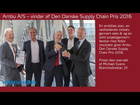 Den Danske Supply Chain Pris   Årets bedste i SCM
