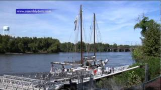 Milam on Tourism Committee Hearing Aboard NJ Tall Ship: Schooner A.J. Meerwald