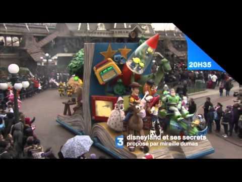 Disneyland et ses secrets France 3, Diffusion le 2 avril 2012 a 20h35.