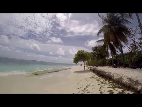 A trip around Kuredu Island Resorts - the whole island in 55 minutes. 25th October 2015.