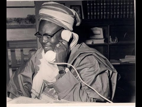 History: Sir Ahmadu Bello's Christmas message in 1959
