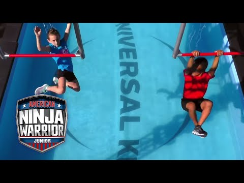 American Ninja Warrior Junior Qualifier EP 6 FULL OPENING CLIP | Universal Kids