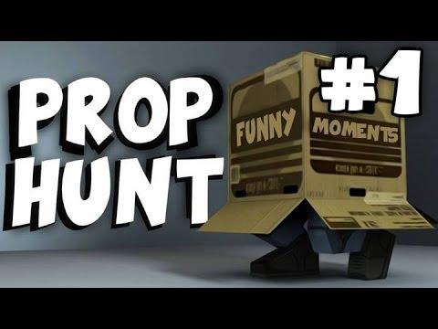 (Нарезка) Gmod - Prop Hunt (прятки) (Лампы рулят :D)