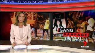 Seven News Exclusive. 200+ Africans Rampage Beach Goers.(St Kilda)(Melbourne)