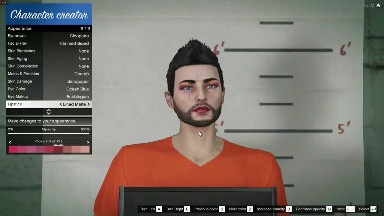 [FGRP] FiveM character creator by TheFuseGamer