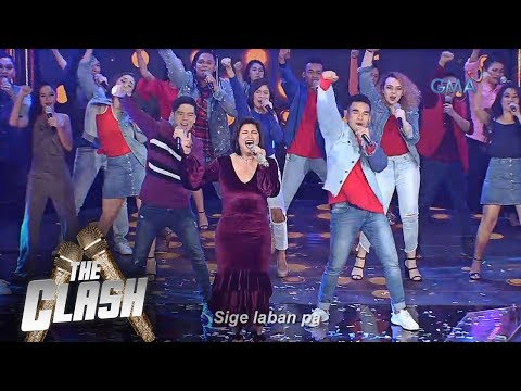 The Clash: Regine Velasquez sings Mangarap Ka, Laban Pa with The Clashers