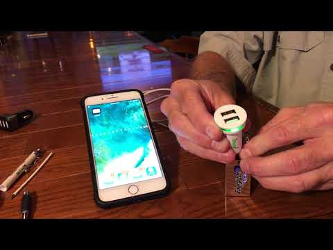 Emergency Charging of your Cell Phone   -  w/Paul
