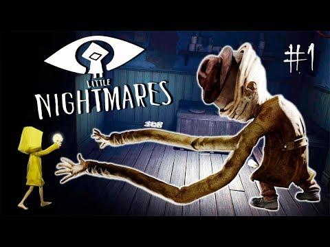 УЖАСЫ НАЧИНАЮТСЯ! Мои МАЛЕНЬКИЕ КОШМАРЫ - Little Nightmares #1
