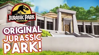EXPLORE THE ORIGINAL JURASSIC PARK! | Jurassic Explorer (FREE Jurassic Park Game)