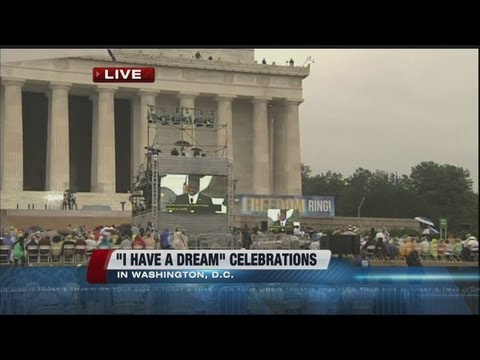 """Marking the 50th anniversary of Dr. Martin Luther King Jr.'s """"I Have a Dream"""" speech"""