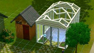 sims 3 строим вместе теплица)