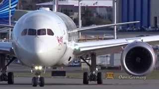 "First Flight Virgin Atlantic 787-9 Dreamliner ""Dream Girl"" @ KPAE Paine Field"