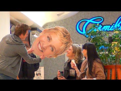 Pulling Ellen from People's Hair