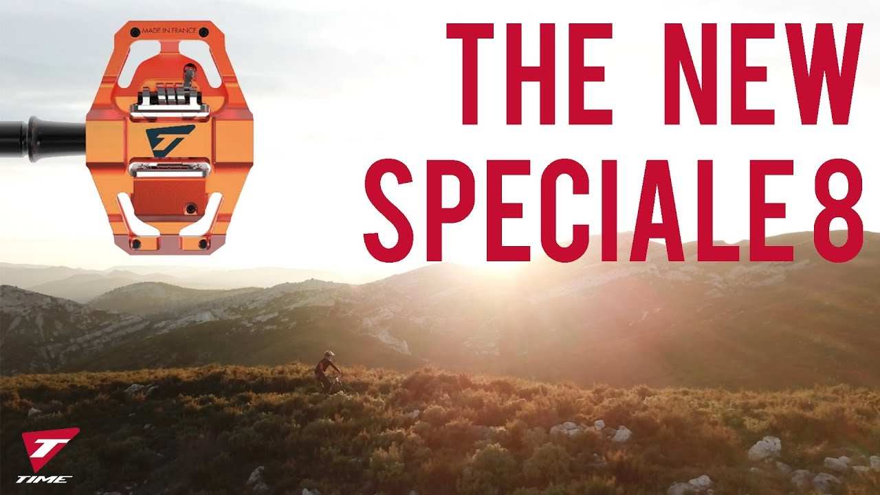 5b98ff79d New Enduro pedal TIME Speciale 8 - YouTube