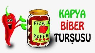 Kırmızı Biber Turşusu | Dayanıklı Konserve | Pickled Pepper for Winter