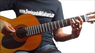 """Cómo tocar la cancion """"Hablame de ti"""" de La Banda MS en guitarra"""