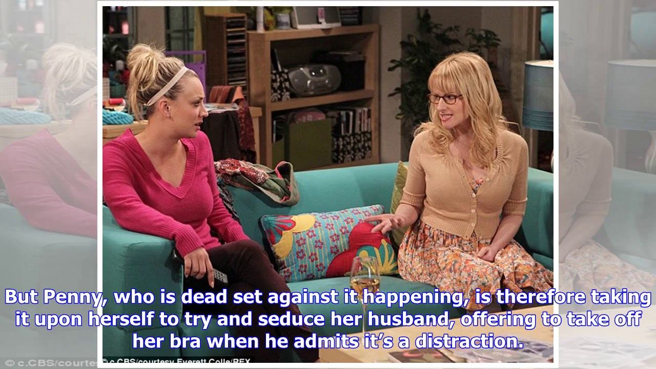 37845546e5b Big Bang Theory s Penny strips off to try and seduce Leonard - YouTube