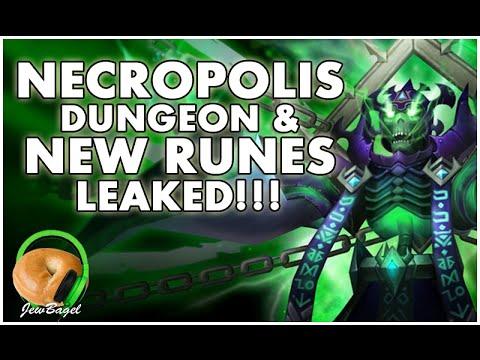 SUMMONERS WAR : NECROPOLIS DUNGEON & DESTRUCTION RUNES LEAKED!!!
