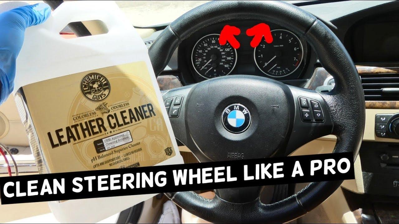 Steering Wheel Cleaner >> How To Clean Steering Wheel