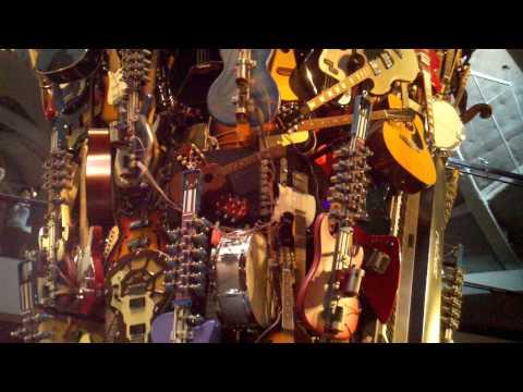 Guitar Sculpture @ Jimi Hendrix Museum - Seattle