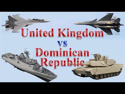 UK vs Dominican Republic Military Comparison 2017