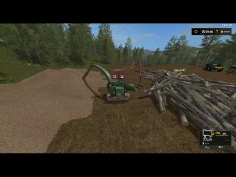 11/19/16 Live Stream On PC Farming Simulator 2017 Forestry More Chipping