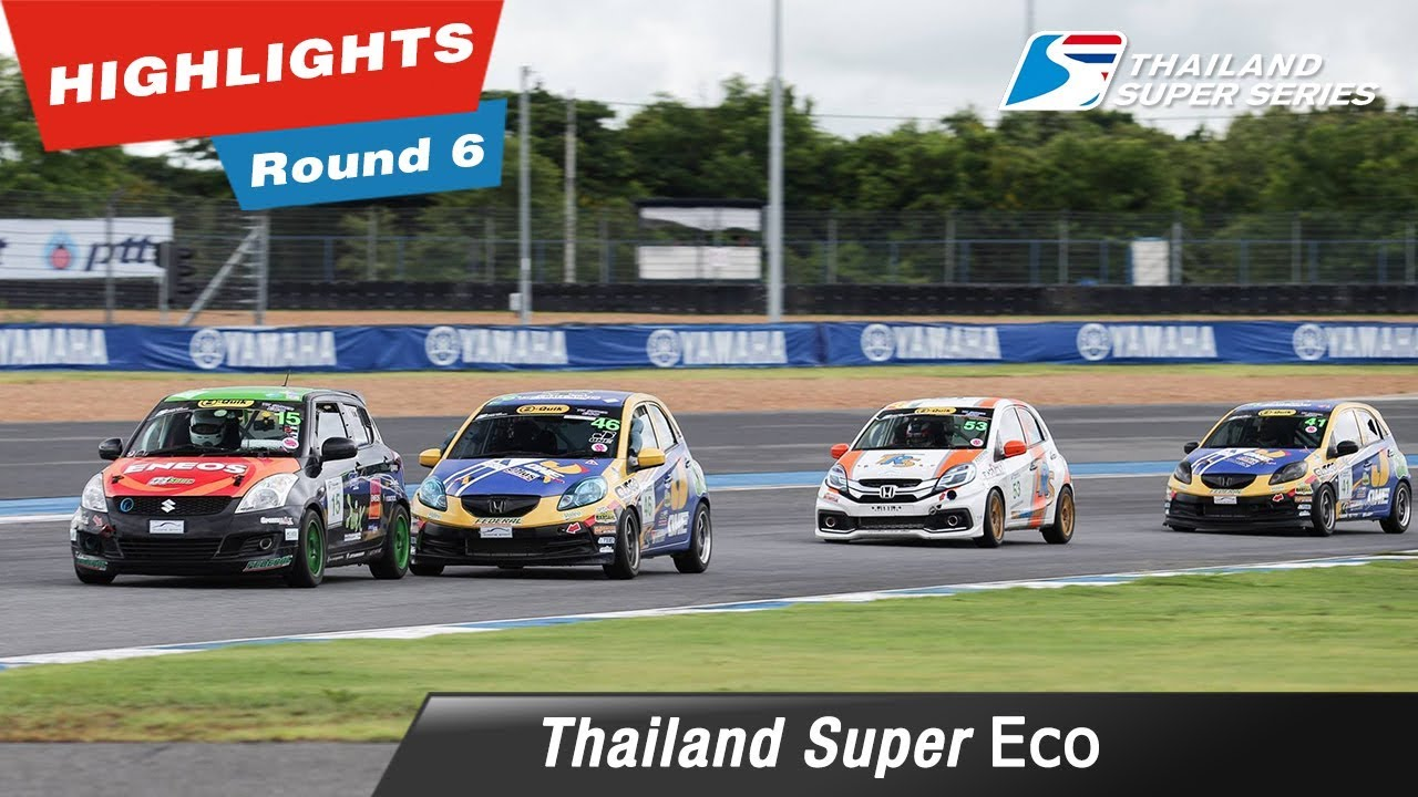 Highlights Thailand Super Eco : Round 6 @Chang International Circuit