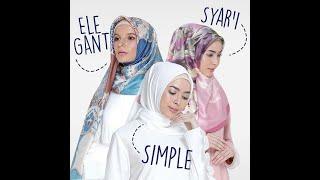 Tutorial hijab Mandjha ivan gunawan edisi lebaran 2018